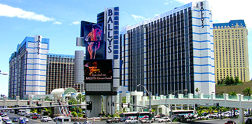 Bally's Hotel and Casino, where the MGM Fire once raged.