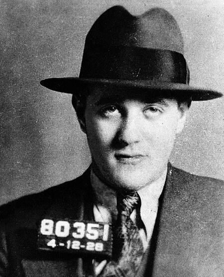 Bugsy Siegel in 1928.