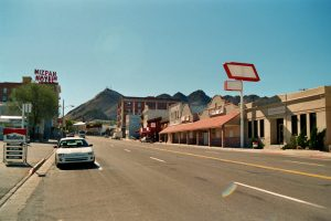 Clowns, Miners, and Tonopah Cemetery - Photo