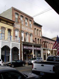 photo shows the facade of the silver queen