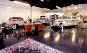 cars shown in garage